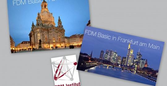 FDM Basic ab 2015/2016 auch in Dresden und Frankfurt am Main